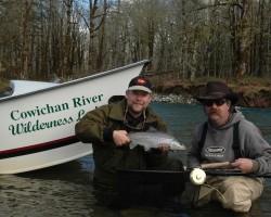 Cowichan River Fishing